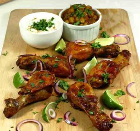 Tandoori Chicken oppskrift.
