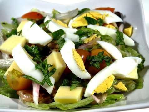 Chef´s  Salad oppskrift.