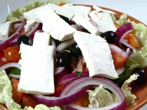 Gresk salat 2 oppskrift.