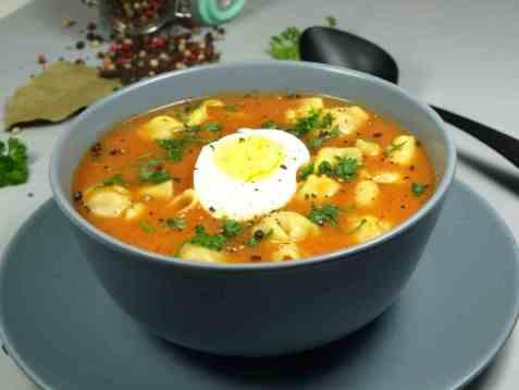 Italiensk tomatsuppe oppskrift.