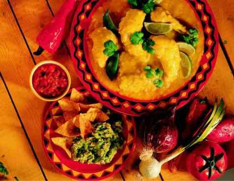 Mexikansk safrankylling oppskrift.