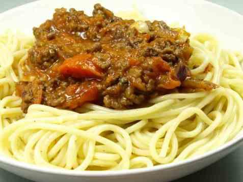 Prøv også Spaghetti med kjøttsaus.