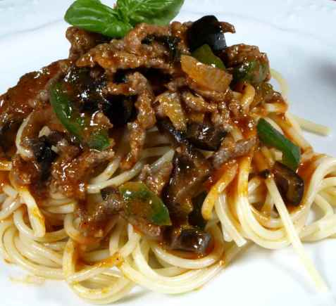 Spaghetti Torino oppskrift.
