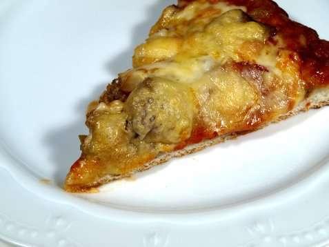 Tacokrydret kyllingpizza oppskrift.
