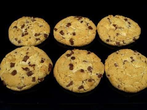 Amerikanske cookies oppskrift.