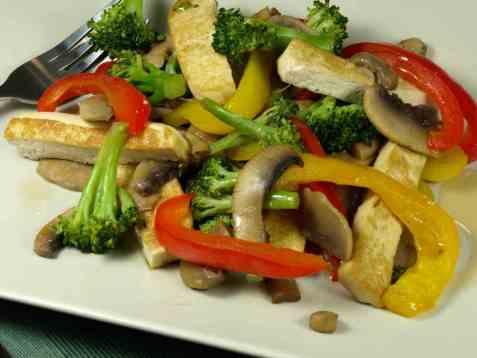Braiserte grønnsaker oppskrift.