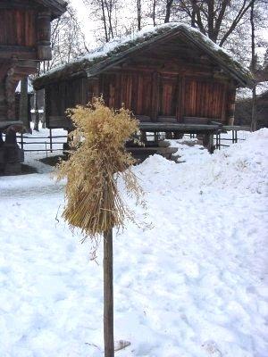 Jul I Huset I Gamle Dager