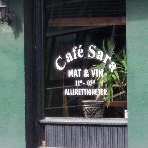 Bilde fra Cafe Sara