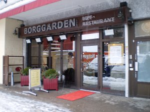 Bilde fra Borggården biff restaurant